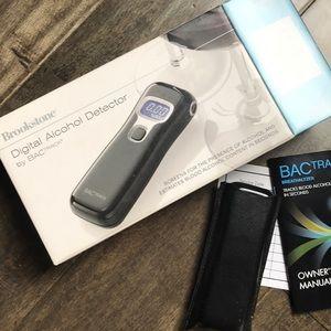 Digital alcohol detector breathalyzer brookstone
